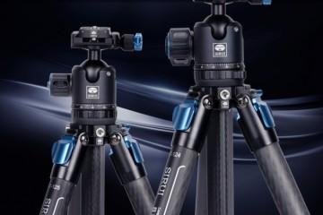 思锐发布全新ST系列纯碳纤ST-124、ST-125三脚架套装