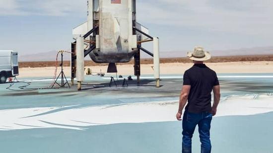 贝索斯最终目标是建立太空之路今天迈出了一小步